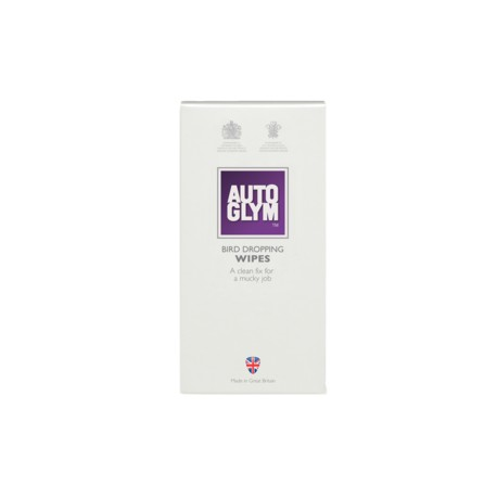 Autoglym Bird dropping wipes 10pck