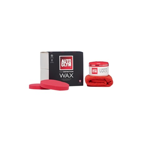 Autoglym High Definition Wax Kit